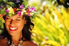 Cook Islands beauty princess.
