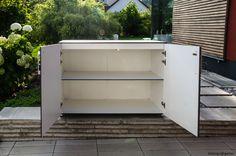 gartenschrank balkonschrank geniale wetterfeste outdoor schr nke on pinterest. Black Bedroom Furniture Sets. Home Design Ideas