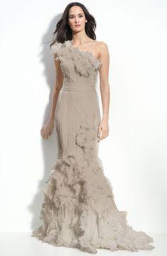 I love gorgeous dresses. Can't help myself!  Tadashi Shoji one of my favorite designers too.  Nordstrom Topanga again!