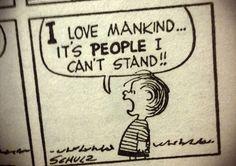 "Linus from ""Peanuts""/""Charlie Brown"""