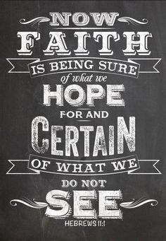 'Faith' & 'Hope' Wall Sign