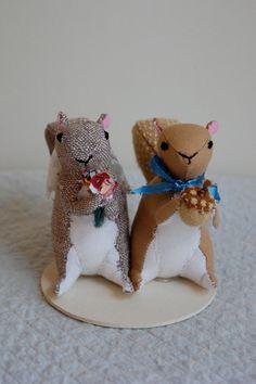 Squirrel wedding