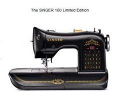 Limited Edition Singer 160 Vintage Remake. I die. Must. Have. This.