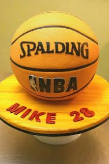 Life Size Basketball cake
