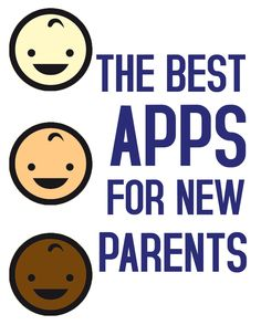 These smartphone apps will be helpful for any new parent! #apps #parenting
