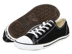 """The """"Dainty"""" version of classic Chucks look so much more feminine.     Converse Chuck Taylor® All Star® Dainty Ox"""