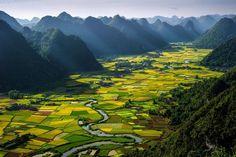 Bac Son Valley, Vietnam