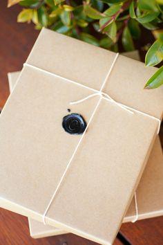 black wax, twine, kraft paper, wax seals, papers, kraft black, prambain