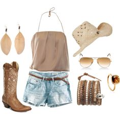 Cowgirl, created by babbel25.polyvore.com
