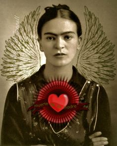 Frida Kahlo Art Print Original
