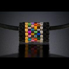 bright colored peyote tube - Believe Bead