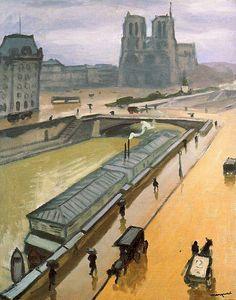 Rainy Day in Paris Albert Marquet - 1910