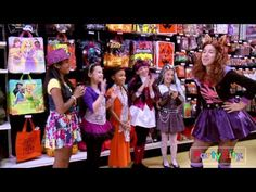 Monster High fans go on a costume accessorizing power-shopping trip and end up creating their own mini Monster High fashion show!