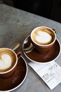 Cappuccinos.