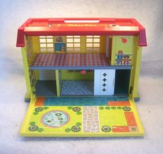 Hospital #fisher_price #little_people #vintage