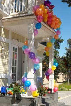 Great balloon entrance!