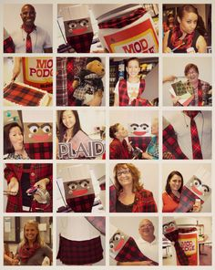 Craft enthusiasts and makers of Mod Podge, FolkArt, Apple Barrel and more - we're honored to help bring you joy and creativity and have a great time while doing it! Celebrating Plaidurday 2013 at Plaid HQ