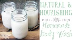 Britta's Natural & Nourishing Body Wash