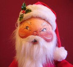 Annalee Mobilitee Cloth Doll Santa