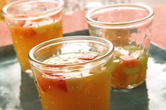 Tropical Summer Punch recipe (TANG Orange flavored drink mix, pear nectar, grenadine, lime juice, melon cubes, chopped apple) ............ kraft.com