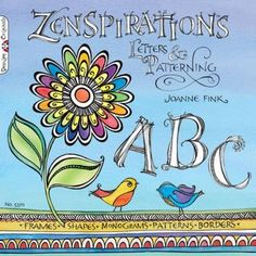 """Zenspirations - this little book teaches you to """"doodle"""" with a purpose. So cute!"""