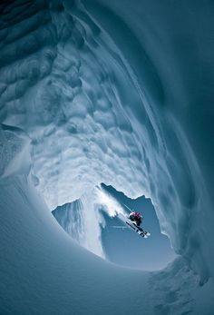 Skiing Whistler, British Columbia, Canada, Photograph by Eric Berger, Red Bull Illume
