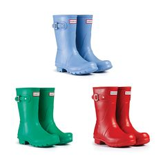 Short Story: Our Original Short Wellington boot is the perfect summer festival footwear choice, now available in a range of colours on www.hunter-boot.com
