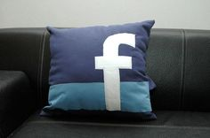 pillow for on the FACEBOOK bed!
