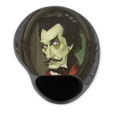 Cafe Press - Haunted Zombie Vincent Price Gel Mousepad