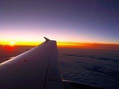 I love watching the sunrise over England. This was from DCA1: the private A319 shuttle from Pontiac to Stuttgart.