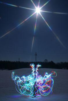 Janne Parviainen lights