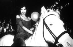 Bianca Jagger celebrating her birthday at Studio 54 in 1977