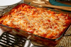 italian recip, bake ziti, sausag, baked ziti, food, dinner recipes, pasta sauces, pastas, vegetarian dinners