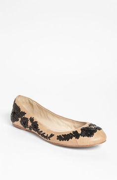 VC Signature 'Amaretto' Flat | Nordstrom    #bride #shoes #pumps #flats