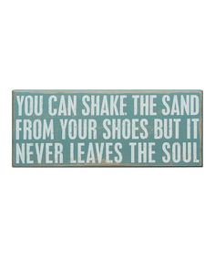 'You Can Shake The Sand' Wall Art
