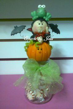 dulcero halloween, mini totem
