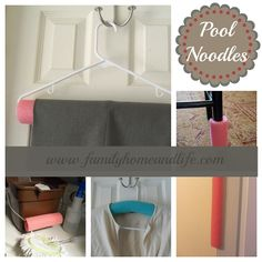 Multiple Uses for Pool Noodles from Family Home and Life