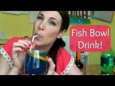 How to make an easy fish bowl drink!