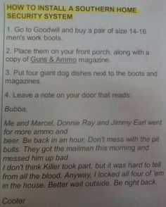 Southern Home Security System