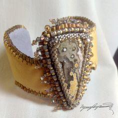 Sand Key An Art Piece Bracelet / Cuff created by by LynnParpard, $210.00