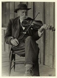 A mountain fiddler.