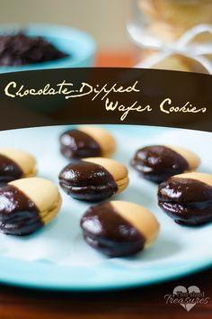 No-bake, chocolate-dipped cookies are the perfect treats for busy moms! Ready in minutes, these goodies will make your kiddos smile! Great for the holidays! Peanut butter and chocolate are best friends! #nobakerecipes #nobakecookies #nobaketreats #cookierecipes www.pintsizedtreasures.com