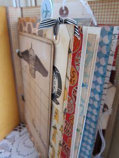 Awesome little junket journal using the 7 gypsies portfolio