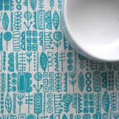 diy kits, block prints, hands, hand screenprint, totem, print patterns, screenprint fabric, design, blue prints