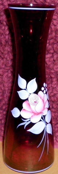 Vintage Ruby Vase