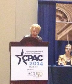Phyllis Schlafly at CPAC 2014 Common Core Panel.