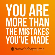 mistakes don't define you |