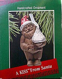 Kiss from Santa Hershey's chocolate Hallmark Christmas