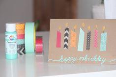 DIY birthday card, by me :)
