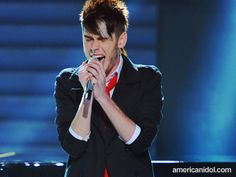 """Colton Dixon performs """"Decode"""" by Paramore at the Semi-Finalist Guys performance show."""